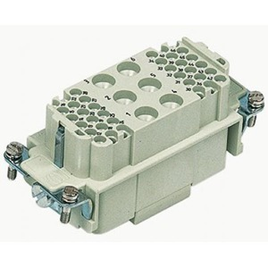 Harting 404 contactblok industriële connector 42 09380423101