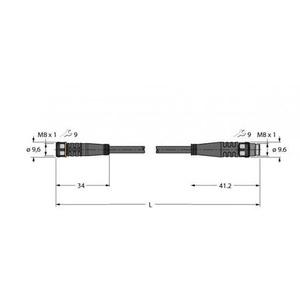 Turck TU PKG4M-0,12-PSG4M/TXL VERBKB