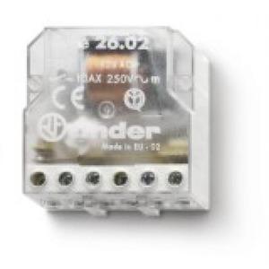 Finder IMPULSRELAIS 1M+1V 10A 230VAC
