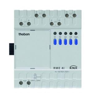 Theben RME 4i schakelactor, 16A, C-last, uitbreidingsmodule