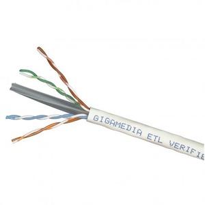 Gigamedia CAT6 U/UTP PVC ECA GRIJS DOOS 305MTR