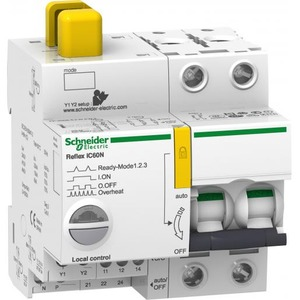 Schneider Electric REFLEX iC60N Ti24 16 A 2P C MCB+CONTROL