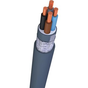 Nexans VO-YMVKAS Dca installatiekabel 2x1,5mm² Grijs 10531928