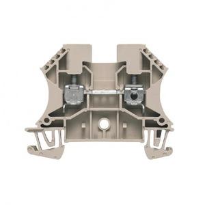Weidmuller W-serie Verbindingsrijgklem 0,5-6mm²  eendr. 1,5-6mm² meerdr. Beige 1020100000