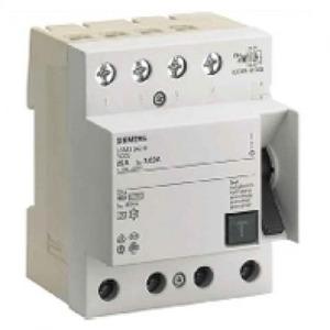 Siemens aardlekschakelaar 4p 25A 0,03A 5SM33426