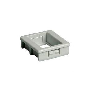 Attema Adapter Onderdeel/Centraalplaat Modular-Jack Modulair element voor schakelmateriaal Kunststof Grijs 1974