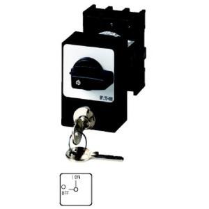 Eaton Aan-uit-schakelaar, 3p, 25A,+cilinderslot, inbouw