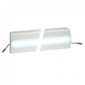 Legrand LED DEKSEL 45 MM VOOR SNAP-ON WANDGOTEN/ENERGIEZUILEN WIT L=1000MM