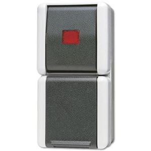 Jung Combinatie wandcontactdoos met beschermingscontact 16 A 250 V ~ / wipc