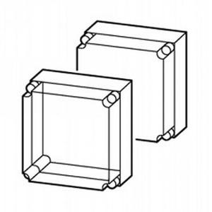 Eaton Kast, CI, HxBxD=250x187.5x175mm, deksel transparant, boven/onder open