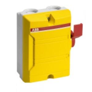 ABB Enclosed Switches Lastscheider Werkschakelaar Schroefaansluiting 6p 25A 2CMA142428R1000