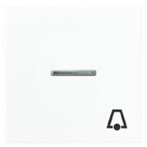 Jung A range bedieningselement Aan-/uit-schakelaar Enkele drukker Wit A590KO5KWW