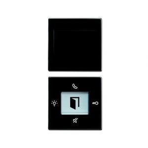 ABB Busch-Jaeger Busch-Welcome bedieningselement Enkele drukker Antraciet 2CKA008300A0214