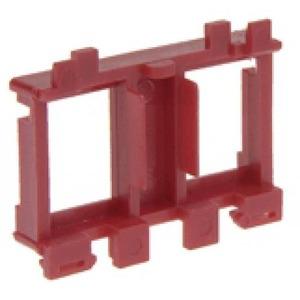 Legrand Draagframe voor keystone connectoren rood