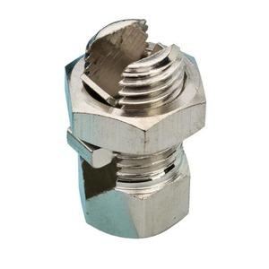 JMV aansluitklem aardelektrode 25-25mm Messing 9200028