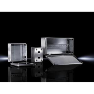 Rittal KL Kast 400x200x120 RVS 1.4301