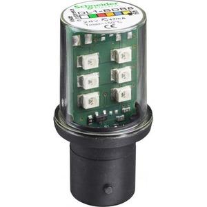 Schneider Electric PERMANENTE LED, BA 15D FITTING, GEEL