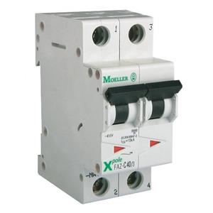Eaton Installatieautomaat FAZ-C2/2 , C 2A , 2 Polig , 15 kA
