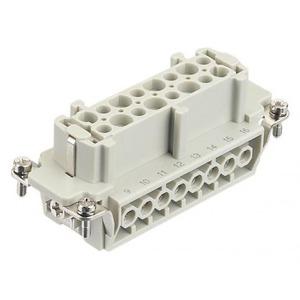 Harting 413 contactblok industriële connector 16 09330162701