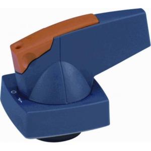 Eaton Draaigreep, 6mm, deurinbouw, blauw, hangslot