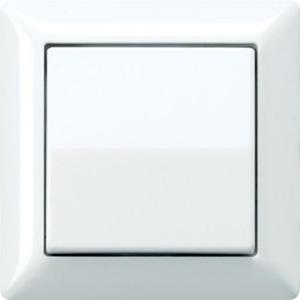 Jung AS500 bedieningselement Aan-/uit-schakelaar Enkele wip Crèmewit (elektrowit) AS590