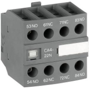 ABB Hulpcontact frontmontage 4blok 3NO+1NC tbv magneetschakelaar NF22, NF40..