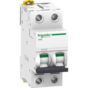 Schneider Electric Acti 9 Installatieautomaat C karakteristiek 10A 2p 2TE A9F94210