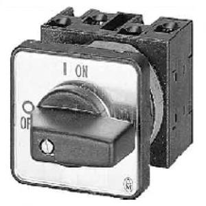 Eaton Poolomschakelaar, dahlander, 3p, Ie=12A, FS 0-1-2, 45°, 48x48mm, inbou