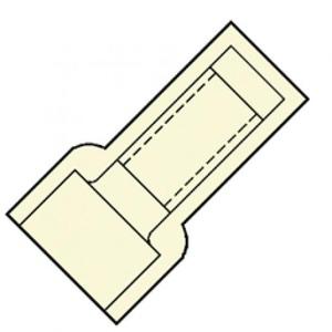 Klemko A2218T EINDVERB 1,5MM2 TRANSP