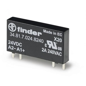 Finder SSR RELAIS 1M 2A/240VAC 12VDC S.