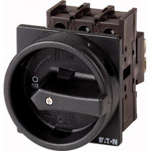 Eaton Hoofdschakelaar, 3p+N, 25A, greep zwart, afsluitbaar, inbouw