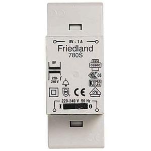 Friedland beltransformator 230V 8V D780S