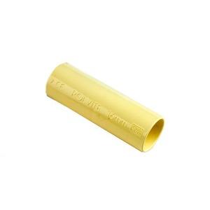 Pipelife Polvite PVC sok 25mm creme