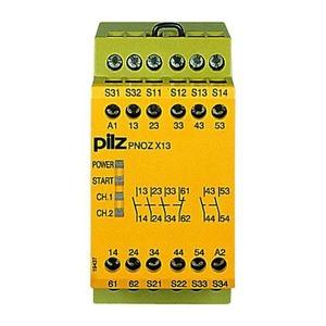 Pilz PNOZ X13 24VDC 5N/O 1N/C RELAIS