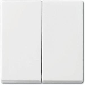 ABB Busch-Jaeger Busch-Balance SI bedieningselement Aan-/uit-schakelaar Tweedelige wip Wit 2CKA001731A2005