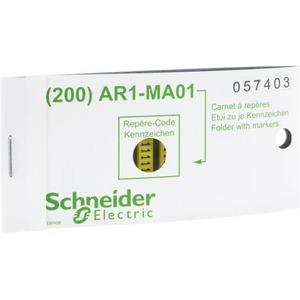 Schneider Electric Linergy adercodering Kaartenvorm Geel AR1MB01A