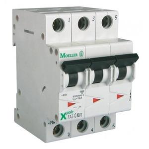 Eaton Installatieautomaat FAZ-C4/3 , C 4A , 3 Polig , 15 kA