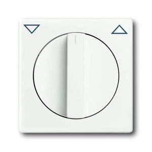 ABB Busch-Jaeger Future linear bedieningselement Jaloezie Draaigreep Wit 2CKA001710A3872