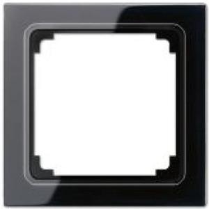 Jung LS range Afdekraam 1V Zwart IP44 LS961ZSW