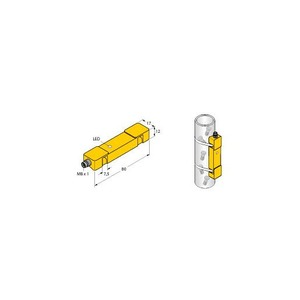 Turck INDUCTIVE SENSOR, DETECTION OF SMALL AND FAST TUBE-GUIDED PARTS,