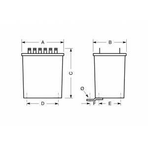 Erea Eénfase beschermingstransformatoren 1-fase stuurtransformator 230-230v met scheidingstrafo 63va 2181