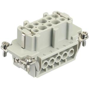 Harting 413 contactblok industriële connector 10 09330102701