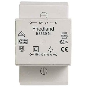 Friedland beltransformator 230V 12V E3539N
