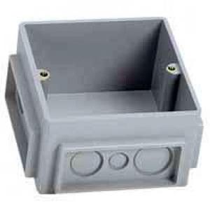 Legrand Pop-up aansluitcomponent voor kabelvloersysteem Onderbouwunit vierkant Staal 210mm 1146060