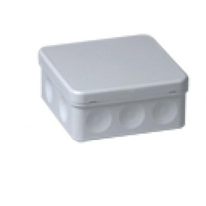 ABB HAF Kabeldoos grootmodel grijs IP55 met 10xzij invoer en 2xonderinvoer