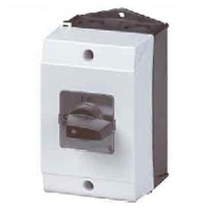 Eaton Aan-uit-schakelaar,+kast, 6p, Ie=25A, FS 0-1, 90°, 48x48mm