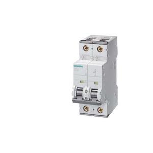 Siemens Circuit breaker 400V 10kA, 2-pole, C, 1A, d=70mm