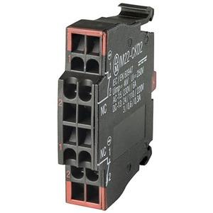 Eaton Contactelement, 2 V, frontbevestiging, veertrekaansluiting