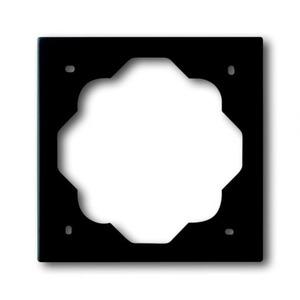 ABB Busch-Jaeger IMPULS Afdekraam 1V Zwart IP20 1754-0-4424