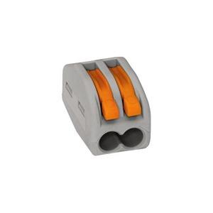Wago Verbindingsklem 2x2,5mm2 grijs